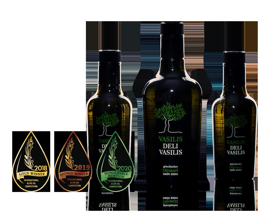 Vasilis Delivasilis Olivenöl